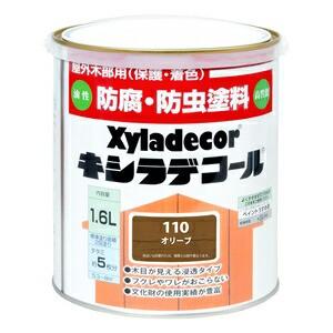 □ 大阪ガスケミカル キシラデコール 1.6L オリーブ 【4571152252358:12168】