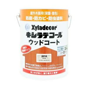 大阪ガスケミカル 水性XDウッドコートS ワイス 3.4L