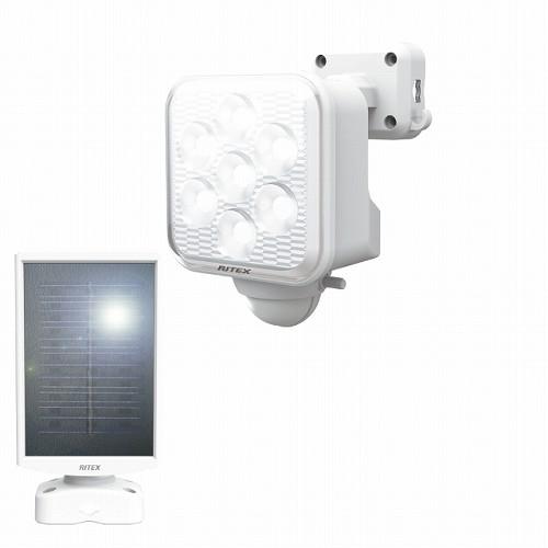 ライテックス 5W×1灯 フリーアーム式 LEDソーラーセンサーライト S-110L