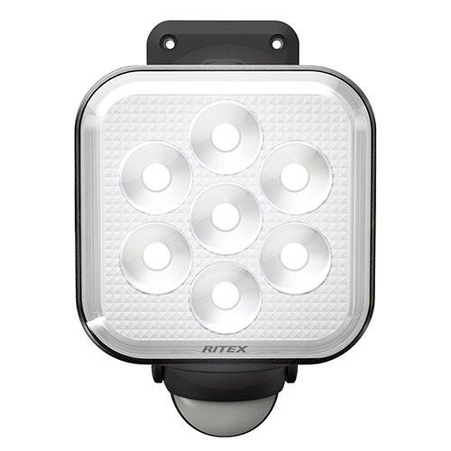 □ ライテックス 11W×1灯 フリーアーム式LEDセンサーライト LED-AC1011 【4954849531118:14618】