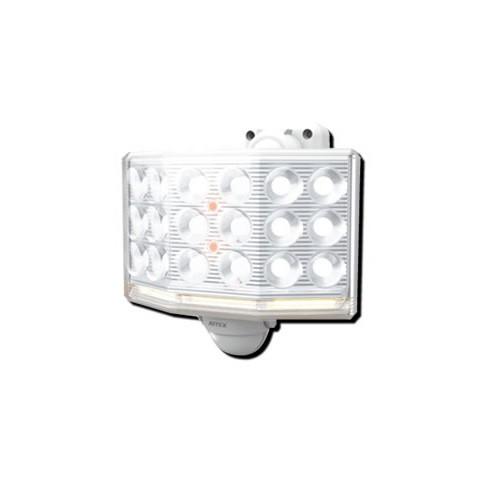 ライテックス LEDセンサーライト フリーアーム式 18Wワイド LED-AC1018 リモコン付