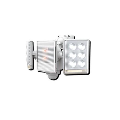 ライテックス LEDセンサーライト 9W×2灯 フリーアーム式 リモコン付 LED-AC2018
