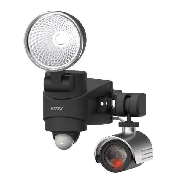 □ ライテックス ダミーカメラ付LEDセンサーライト DMC-SL7H 【4954849600074:14618】