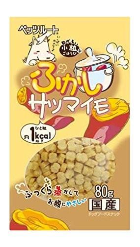 ふかしサツマイモ ペッツルート 80g 国産 犬 おやつ トリーツ