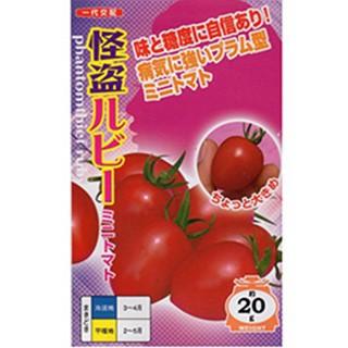 トマトの種 怪盗ルビー 小袋(7粒)