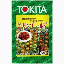 ミニトマトの種 サンゴールド 小袋(20粒)