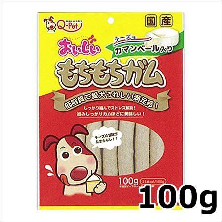 【15個セット】おいしいもちもちガム 犬用おやつ チーズ 100g