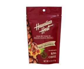 HawaiianHost コナコーヒーマカデミアナッツ スタンドアップバッグ4.5oz(127g)