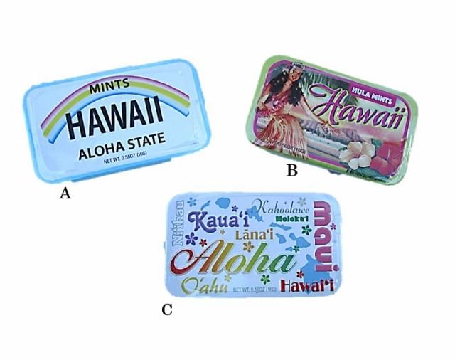 【ハワイ直輸入】MINTS缶ケース【ハワイアンフード】HAWAII ミントス