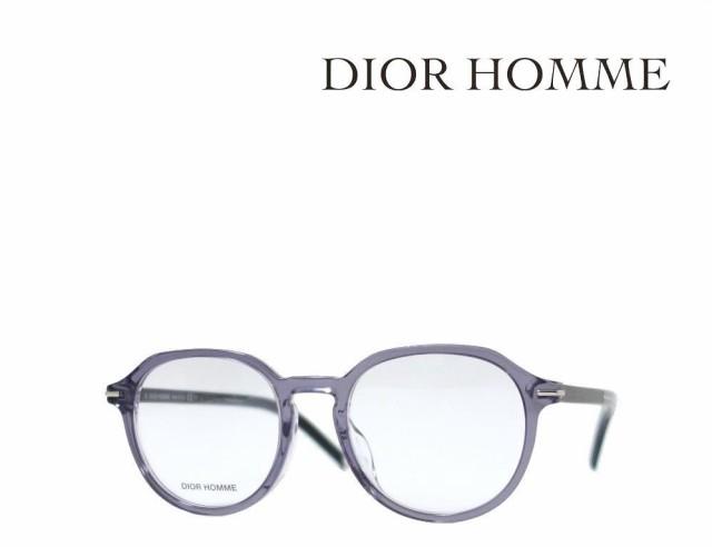 【DIOR HOMME】 ディオール オム メガネフレーム BLACKTIE272F 63M クリスタルグレイ アジアンフィット 国内正規品