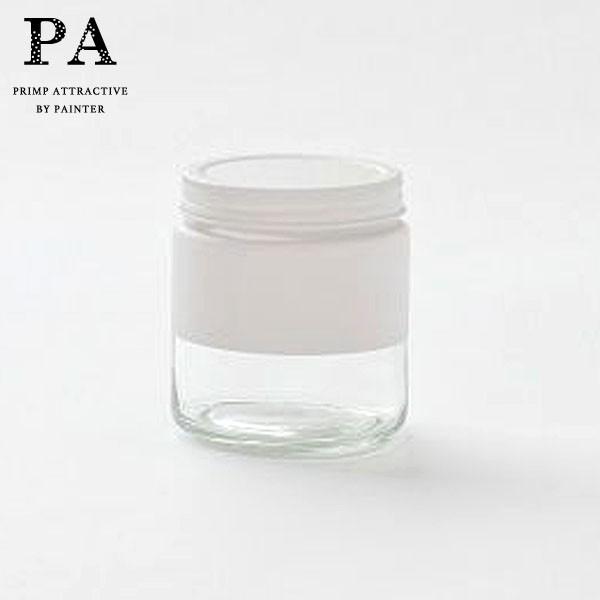 P5倍 PA ボトル型キャニスター S(510ml) White 白 ホワイト 湯せん不可 見せる収納 コーヒー豆 紅茶 グラノーラ 調味料 おうち時間 映