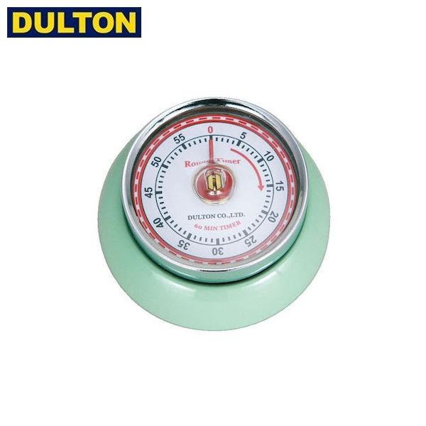 P5倍 DULTON キッチンタイマー ウィズ マグネット ミントグリーン (品番:100-189MG) ダルトン インダストリアル アメリカン ヴィンテー