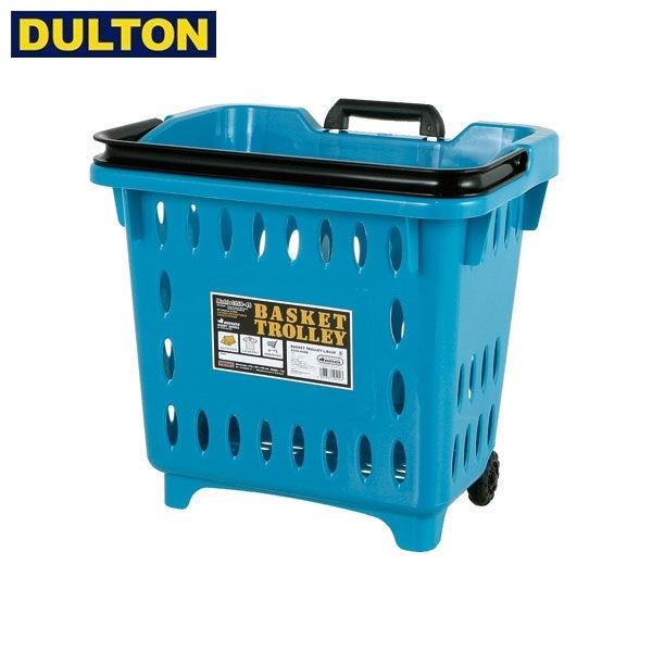 DULTON BASKET TROLLEY L.BLUE 【品番:S359-49SB】 ダルトン インダストリアル アメリカン ヴィンテージ 男前 バスケット トローリー サ