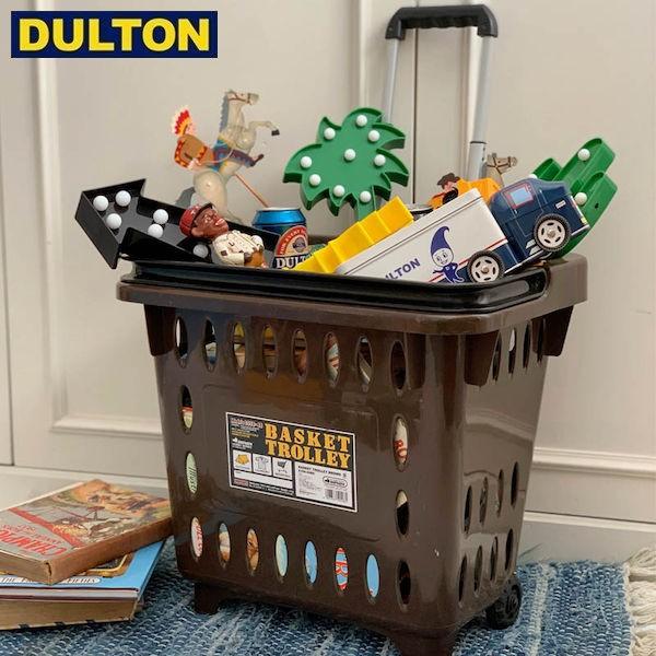 DULTON BASKET TROLLEY BROWN 【品番:S359-49BR】 ダルトン インダストリアル アメリカン ヴィンテージ 男前 バスケット トローリー ブ