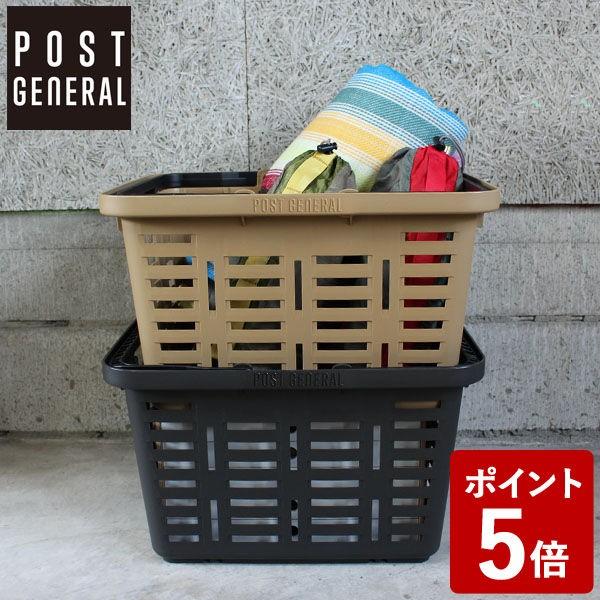 【P5倍】Post General ヘビーデューティーバスケット レギュラー チャコールブラック 98194-0032 クレエ ポストジェネラル Creer 男前 メ