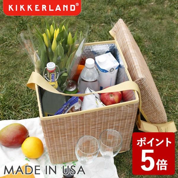 【P5倍】KIKKERLAND ウィッカー ピクニック クーラー シート KCD139 キッカーランド
