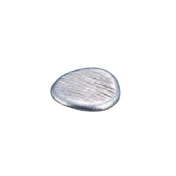 全品P5〜10倍 錫 丸餅型箸置 ゴザ目 SG019