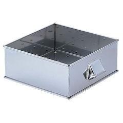 SA21-0角蒸器 42CM用:枠 目皿付 AMS66342