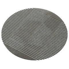 ミューファン 抗菌 銀の麺すのこ 5枚入 31895スケルトンブラック