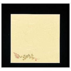 5寸懐紙 四季の花 100枚入 S5-10萩 QKIC6