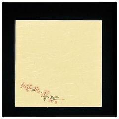 5寸懐紙 四季の花 100枚入 S5-4桜 QKIC0