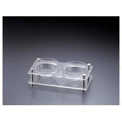 アクリル コンディメントスタンド 1段2穴B30-4 NKV1601