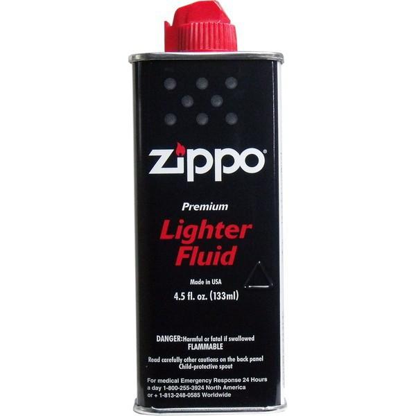 全品P5〜10倍 ZIPPO (ジッポー) オイル 小缶 133mL