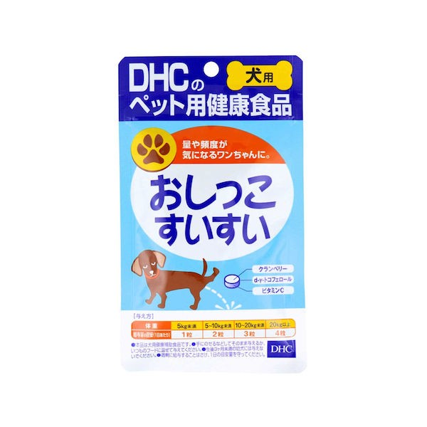 DHC 愛犬用 おしっこすいすい 60粒