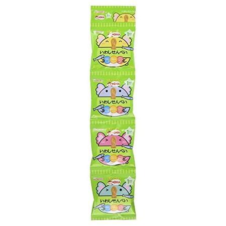 和光堂 1歳からのおやつ+DHA いわしせんべい 6g×4袋