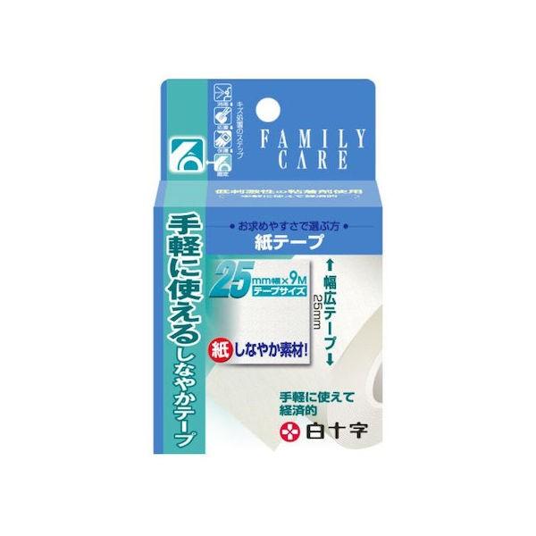 白十字 FC 紙テープ 25mmx9m