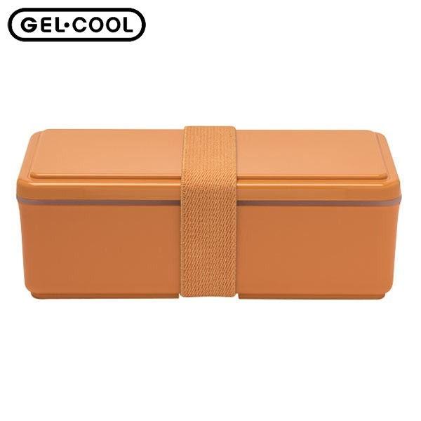 【P10倍】GEL-COOL ランチボックス スクエア SG パンプキンオレンジ 500ml 三好製作所