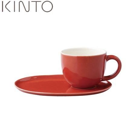 【P10倍】KINTO ほっくり カフェスイーツ 赤 23625 キントー