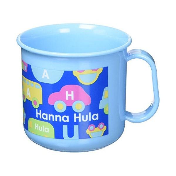 Hanna Hula キッズ 耐熱プラコップ のりもの ハンナフラ ハルカリンズ