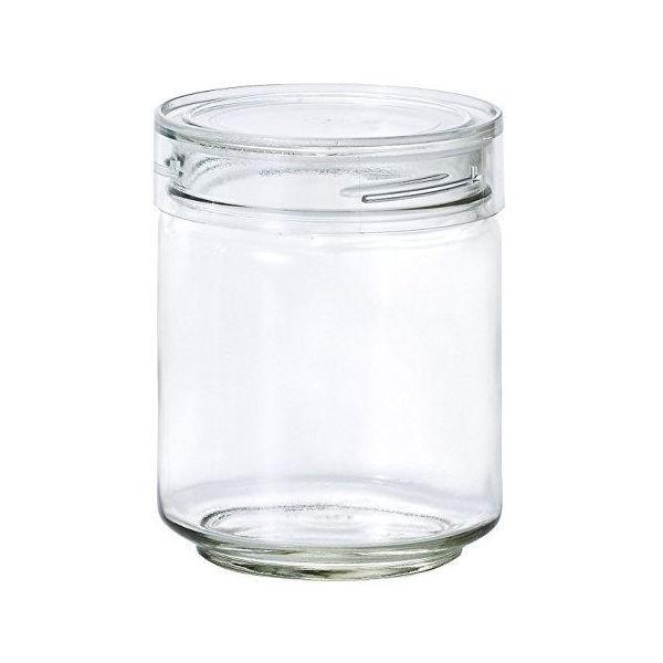 全品P5〜10倍 アデリア ガラス保存容器 クリア 750mL カラーキャップボトル 日本製 M-6631