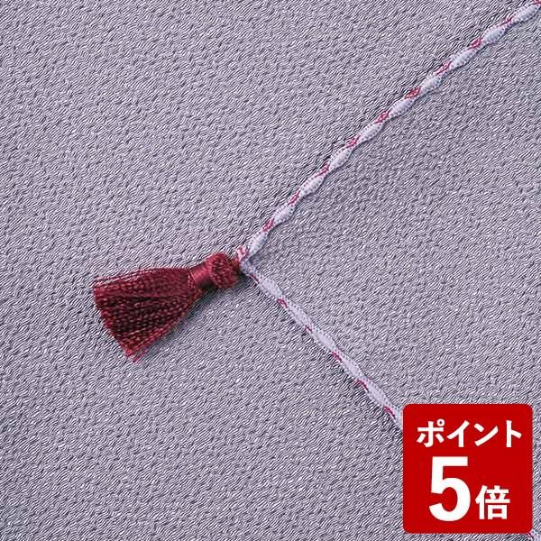 【P5倍】山田繊維 ふくさ ポリエステルちりめん むす美 日本製 ムラサキ 10127-001