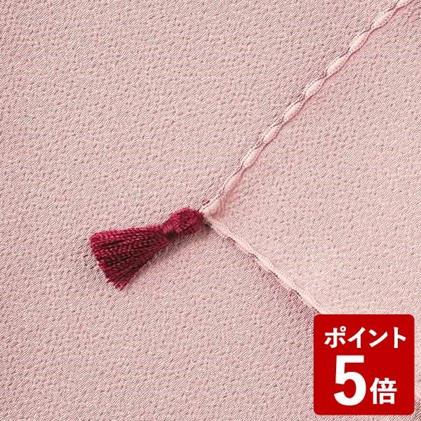 【P5倍】山田繊維 ふくさ ポリエステルちりめん むす美 日本製 ピンク 10127-004