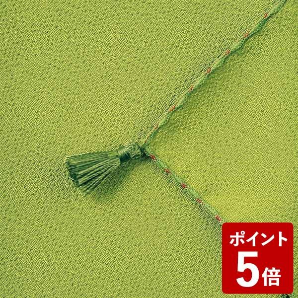 【P5倍】山田繊維 ふくさ ポリエステルちりめん むす美 日本製 ワカバ 10127-005