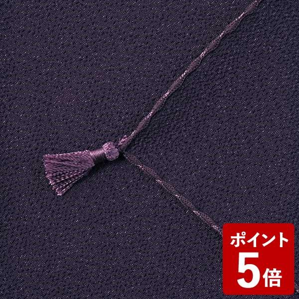 【P5倍】山田繊維 ふくさ ポリエステルちりめん むす美 日本製 パープル 10127-006