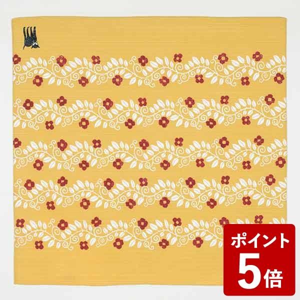【P5倍】チーフ 竹久夢二 約48cm風呂敷 綿100% ネコ ヤマブキ 山田繊維
