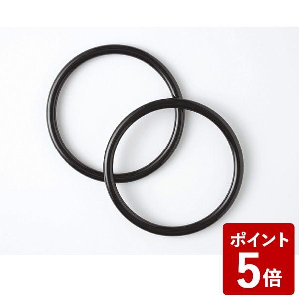 P5倍 むす美 ふろしきバッグが作れる いちごリング クロ 90157-002 山田繊維