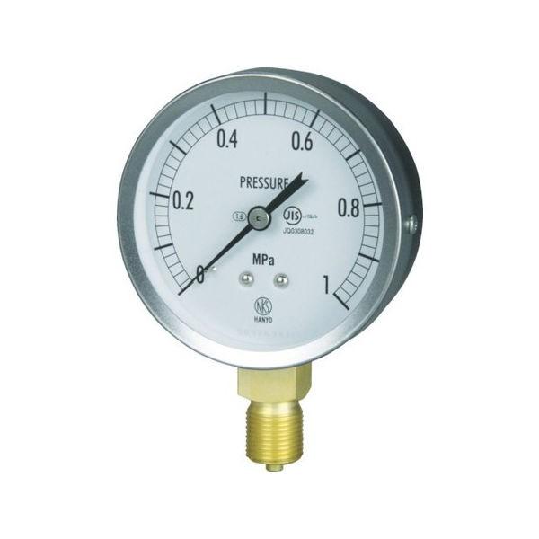 JIS汎用形圧力計(A枠) 長野 GS511310.6MP-5151
