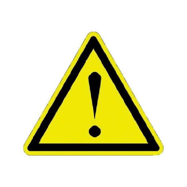 全品P5〜10倍 ISO警告ラベル 危険地域 (100枚入) パンドウイット PESWB9Y-6260