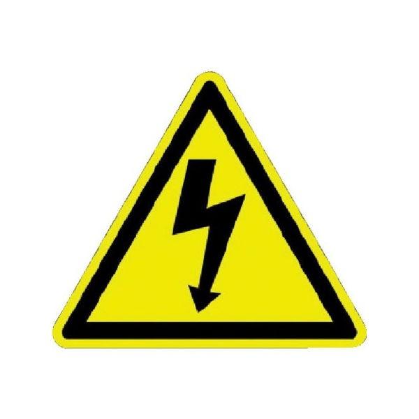 全品P5〜10倍 ISO警告ラベル 感電注意 (100枚入) パンドウイット PESWC1Y-6260