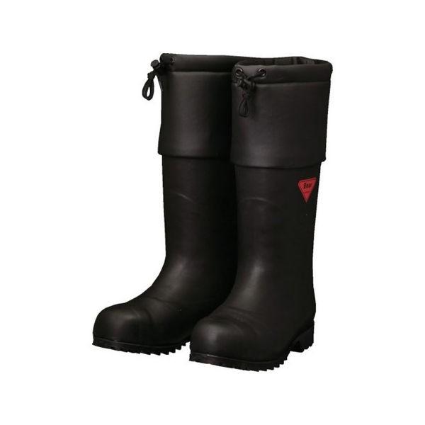 SHIBATA 防寒安全長靴 セーフティベアー#1001白熊(ブラック) AC11125.0