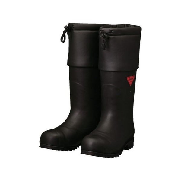SHIBATA 防寒安全長靴 セーフティベアー#1001白熊(ブラック) AC11122.0