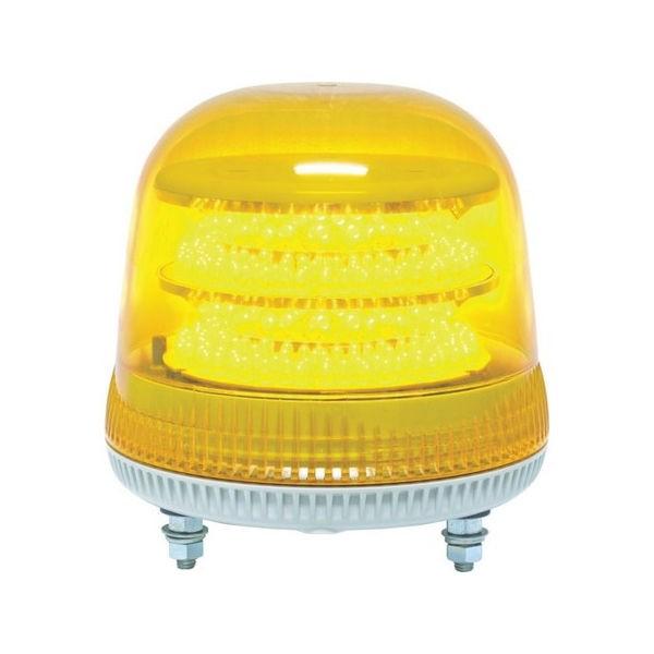 全品P5〜10倍 ニコモア VL17R型 LED回転灯 170パイ 黄 NIKKEI VL17M100APY-5212