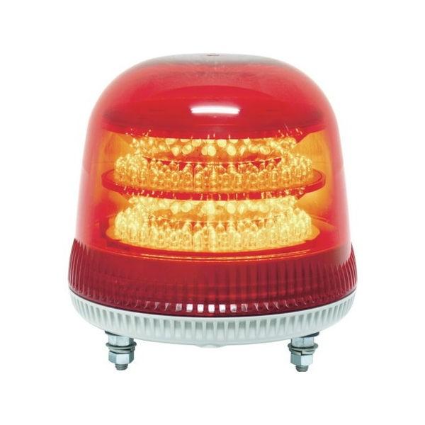 全品P5〜10倍 ニコモア VL17R型 LED回転灯 170パイ 赤 NIKKEI VL17M024AR-5212