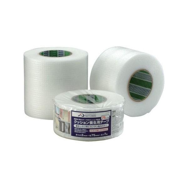 全品P5〜10倍 クッション養生テープ100 ニトムズ G0301-5042