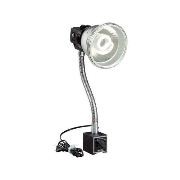 蛍光灯マグスタンド 18W蛍光灯付 電線1.6m マグネットスタンド付 ハタヤ MF15M-6012