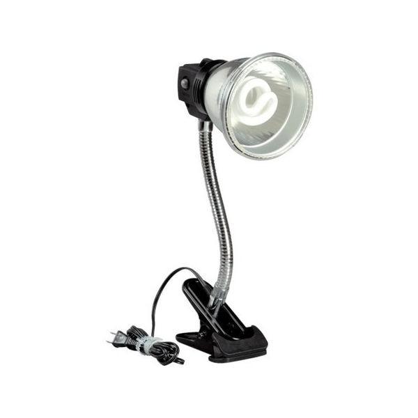 蛍光灯マグスタンド 18W蛍光灯付 電線1.6m クリップ付 ハタヤ MF15C-6012